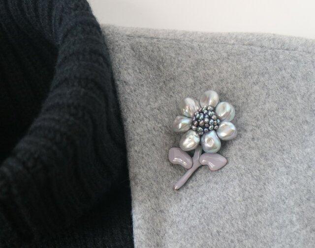 バロック真珠の花 その2の画像1枚目