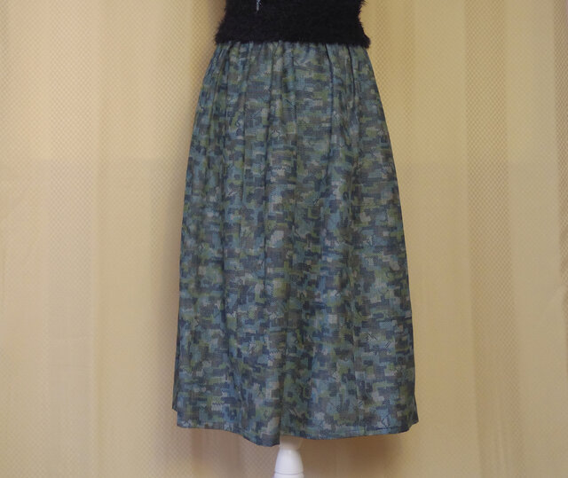 ギャザースカート 7001の画像1枚目