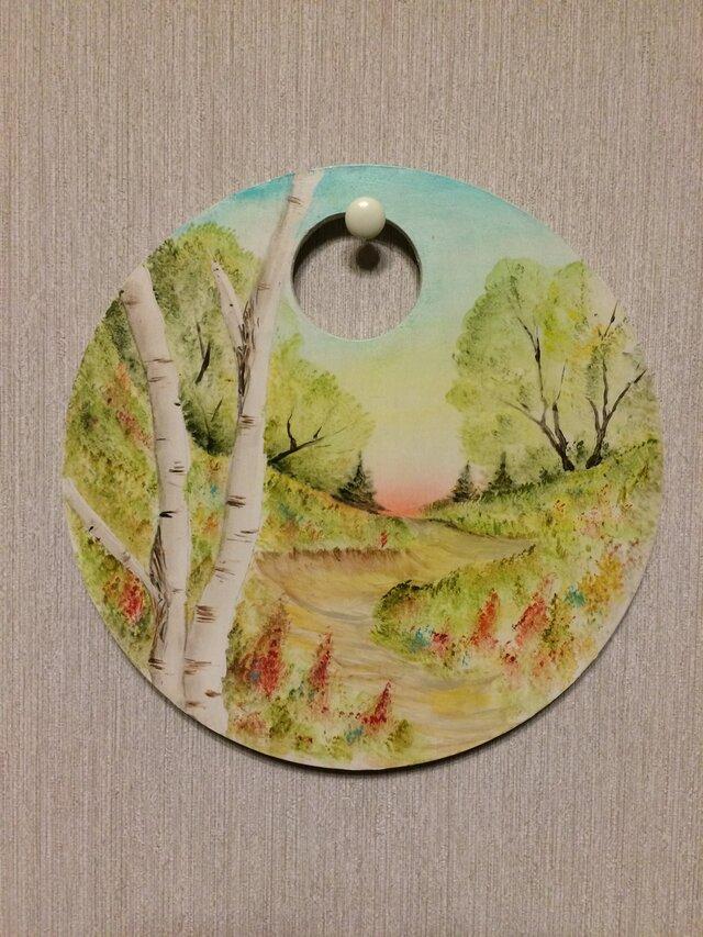 春の小径/ポピーの画像1枚目