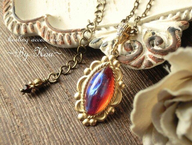 ~§:Decorative:§~ vintage dragon's breath ネックレス。の画像1枚目