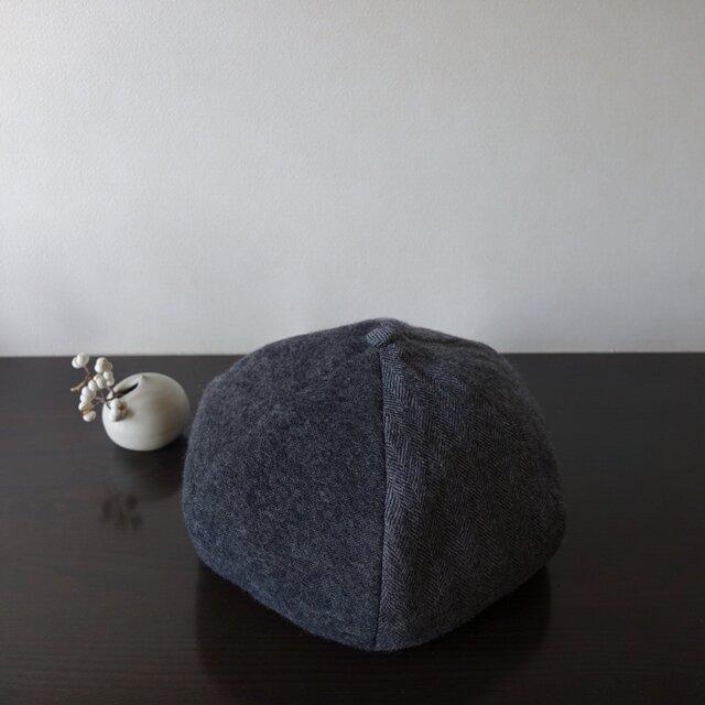 リバーシブルベレー帽 ウールの画像1枚目