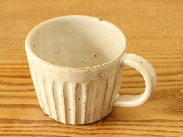 白マット マグカップ -鎬 shinogi-の画像1枚目