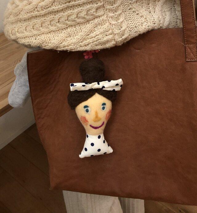女の子の人形 Dの画像1枚目