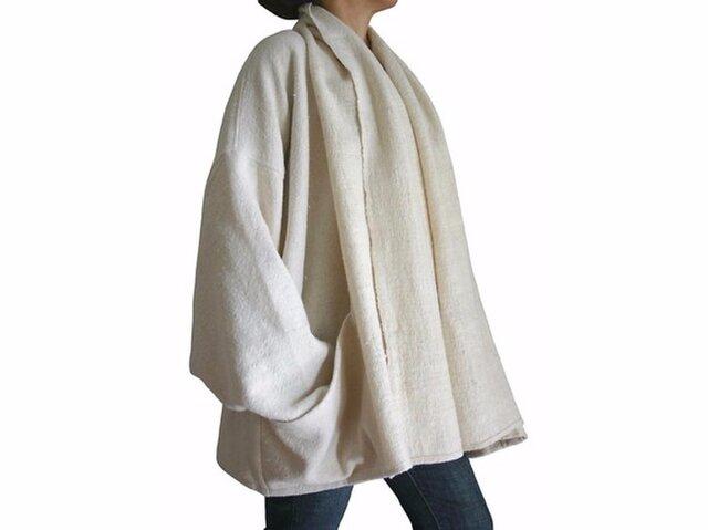 ざっくりジョムトン手織り綿ゆったりデザインジャケット(JNN-010-02)の画像1枚目