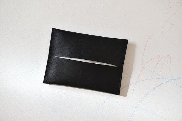ポケットティッシュケース  [nappa/bk]の画像1枚目