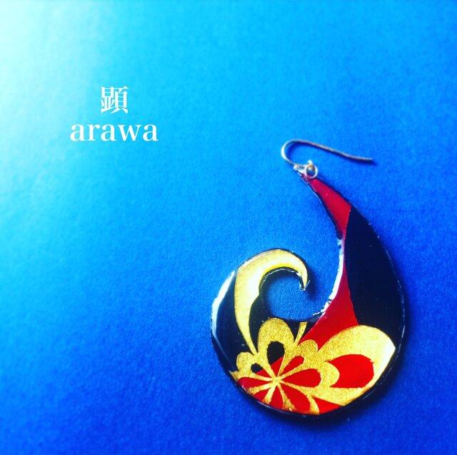 舞鶴 -Maizuru-【 和柄アートアクセサリー 】の画像1枚目