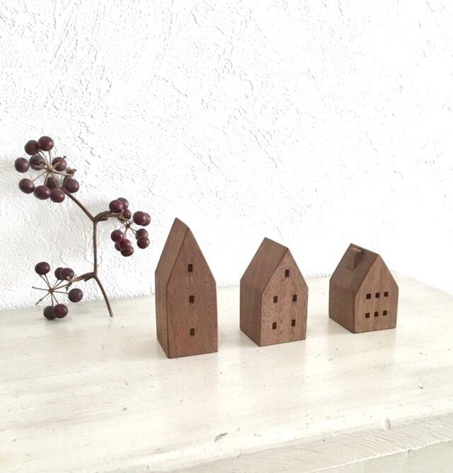 小さな木の家 ーヨーロッパの街並9ーの画像1枚目