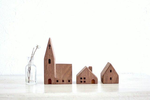 小さな木の家 ー教会48ーの画像1枚目