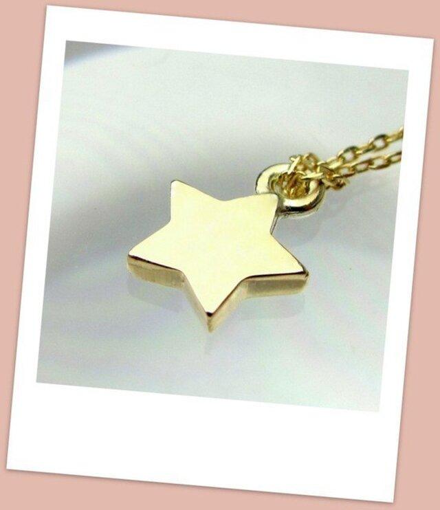 K10YG LOAMA Estrella Necklaceの画像1枚目