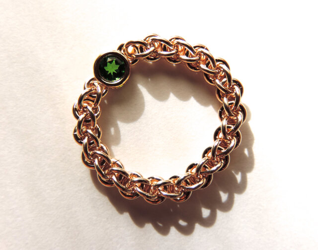 『 Forester ( heart ) 』Ring by K14GFの画像1枚目