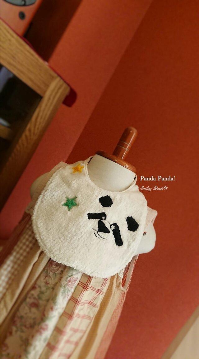 長持ちスタイ Smiling Panda☆の画像1枚目