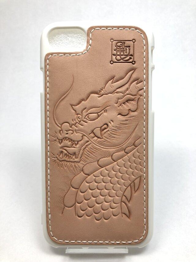 龍の iPhoneレザーカバー(iPhone7・8対応)No.403の画像1枚目