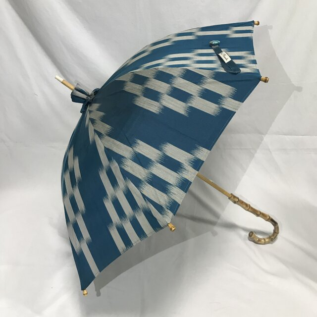 日傘 de 着物 浅葱色(ASAGIIRO)の画像1枚目