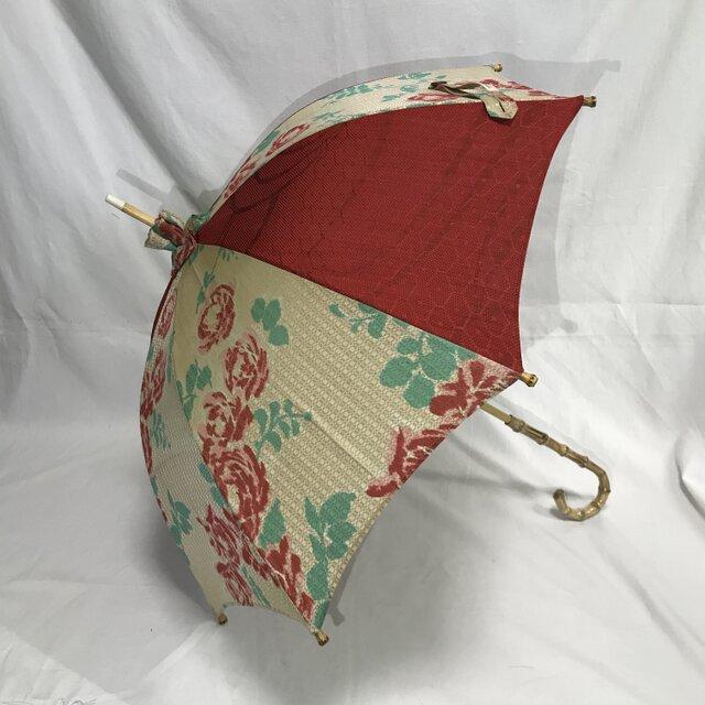 日傘 de 着物 春一番の画像1枚目