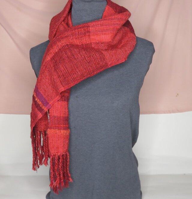 手織り ウール A1115bの画像1枚目