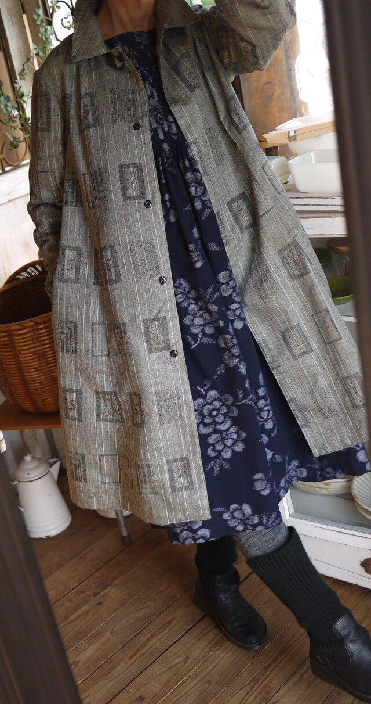 着物から単衣のコートの画像1枚目
