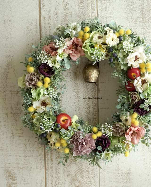Hobbit Garden Wreath  25cmの画像1枚目