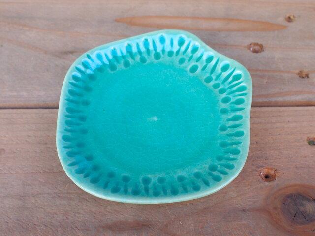 水色小皿の画像1枚目