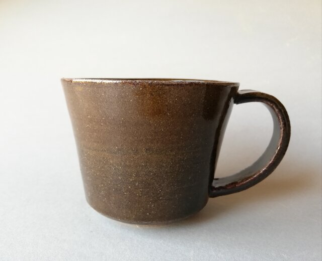 飴釉 マグカップの画像1枚目