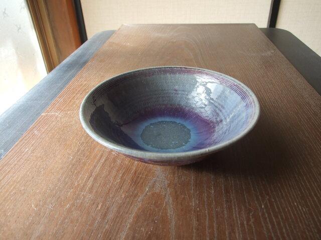 孔雀釉薬鉢の画像1枚目