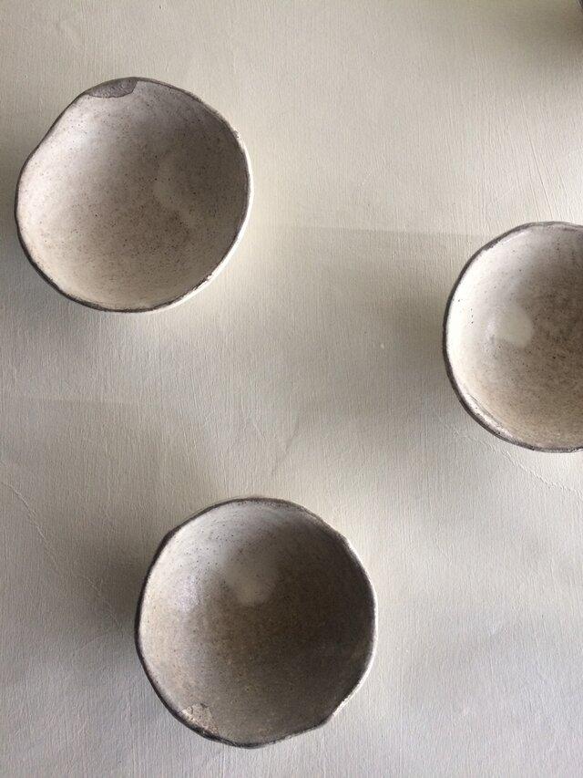 粉引銀彩小鉢の画像1枚目