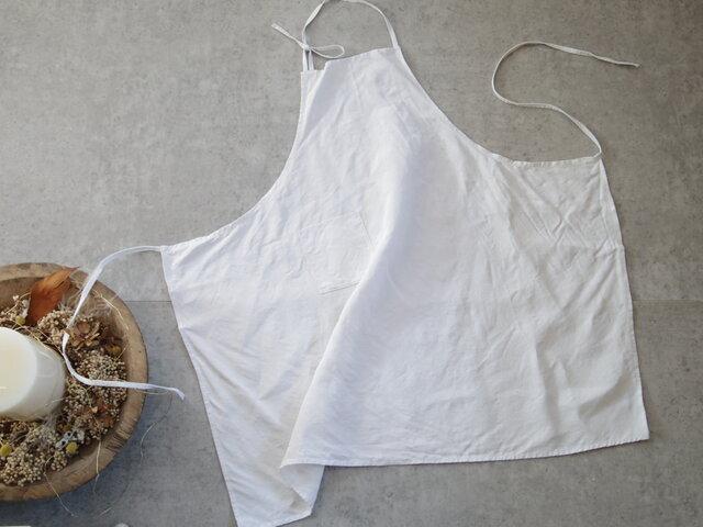 antiquelinen apronの画像1枚目