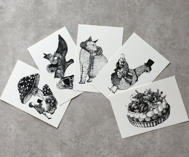 ポストカードセット(5枚組)の画像1枚目