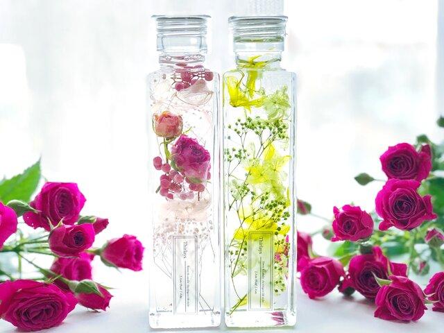 2本セットElegant Rose PINK & GREEN - Mサイズ-の画像1枚目