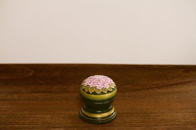 蓋物▫︎陶 桜・ちいさな菓子うつわの画像1枚目