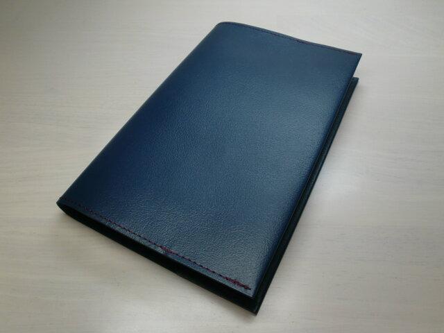 「O様」オーダー品・新書サイズ・ブックカバーの画像1枚目