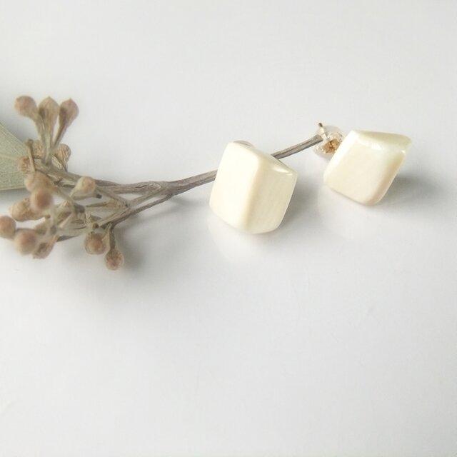 k10✼Makkoh pierced earrings 92021の画像1枚目