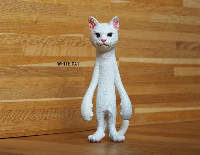 The Cat 200% 【しろねこ】【送料無料】の画像1枚目