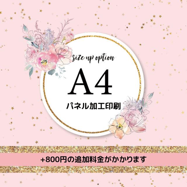 【オプション】A4パネル加工印刷の画像1枚目