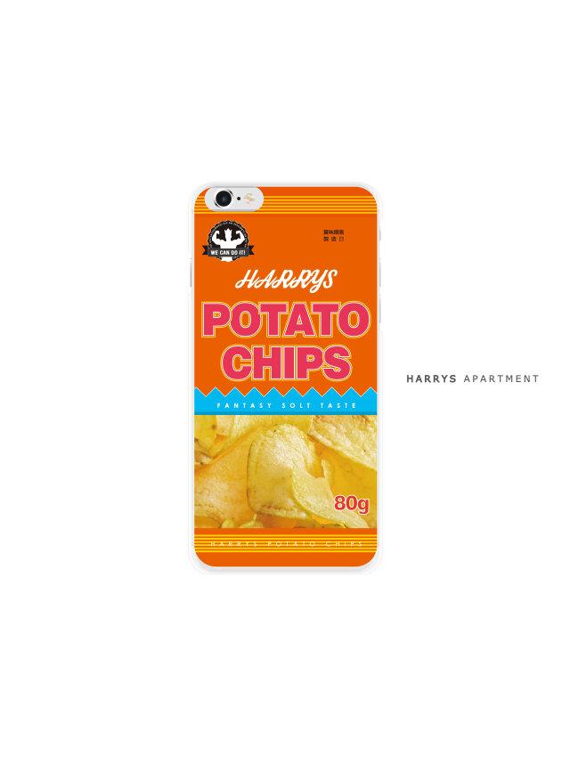 iphone7 ケース ポテチ ポテトチップス スマホケースの画像1枚目