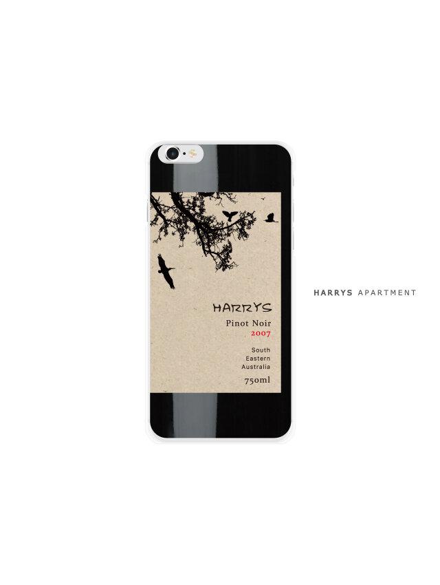 iphoneXS ケース ワイン 赤ワイン スマホケースの画像1枚目