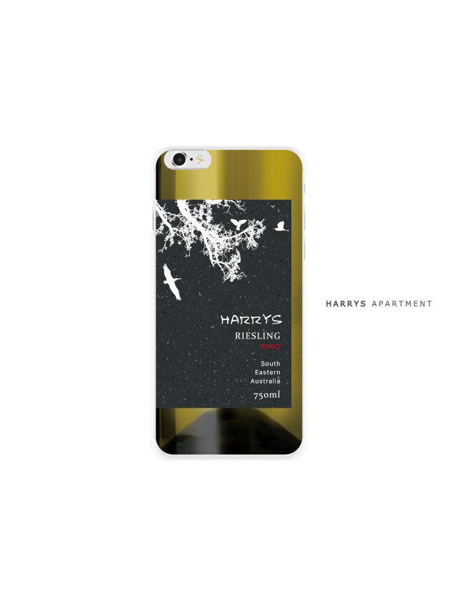 iphoneXS ケース ワイン 白ワイン スマホケースの画像1枚目