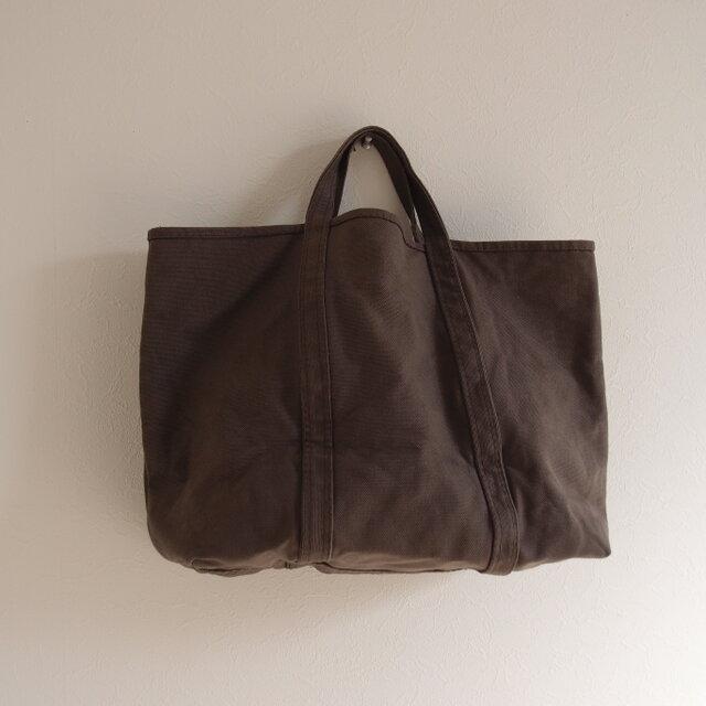 BASIC TOTE ( M )   smoky dark brown  煤竹色(すすたけいろ) の画像1枚目