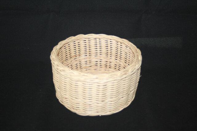 籐編みかごの画像1枚目