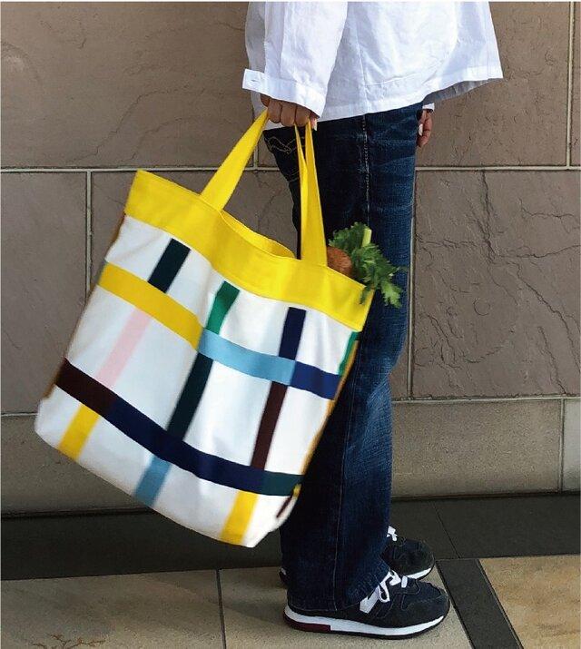 コンパクト おかいのもかばん  カラフル Yの画像1枚目