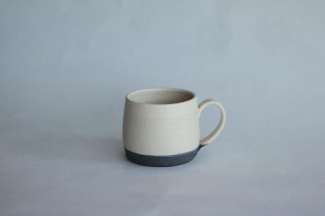寸胴な小さめマグカップ 白の画像1枚目