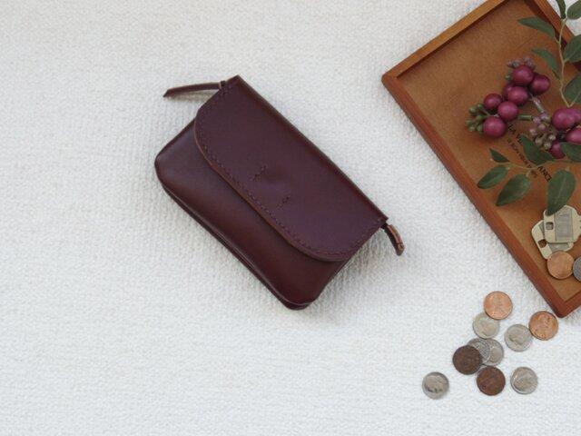 柔らかなお財布(brown  2)の画像1枚目