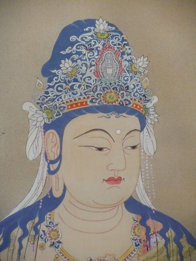 勢至菩薩像(c-4)の画像1枚目