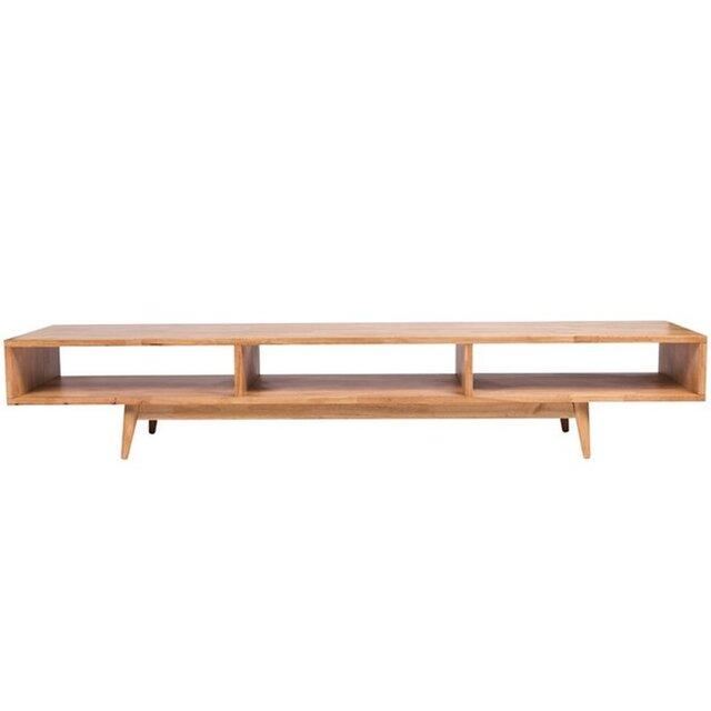 受注生産 職人手作り ローボード/テレビ台 北欧家具 ナチュラル 国産 サイズオーダー可 家具 木工 シンプル 座卓の画像1枚目