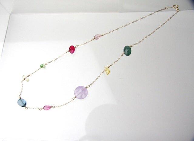 Lollipop Necklace 14KGFの画像1枚目