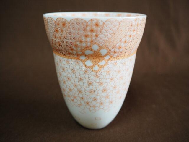 ビアカップ 桜の画像1枚目