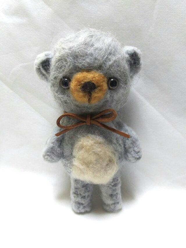 お目目パッチリのクマさんの画像1枚目