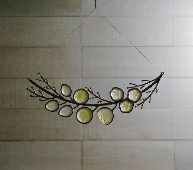 ガラスのスワッグ[春の花]の画像1枚目