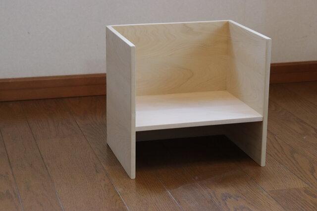 「青森ひば」 幼児用椅子 /TC8 [注文制作]の画像1枚目