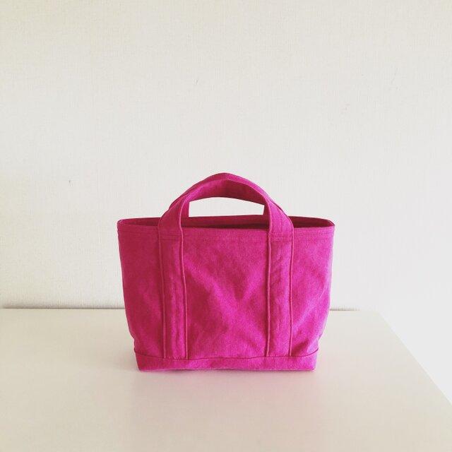 TOTE BAG (M) / pinkの画像1枚目