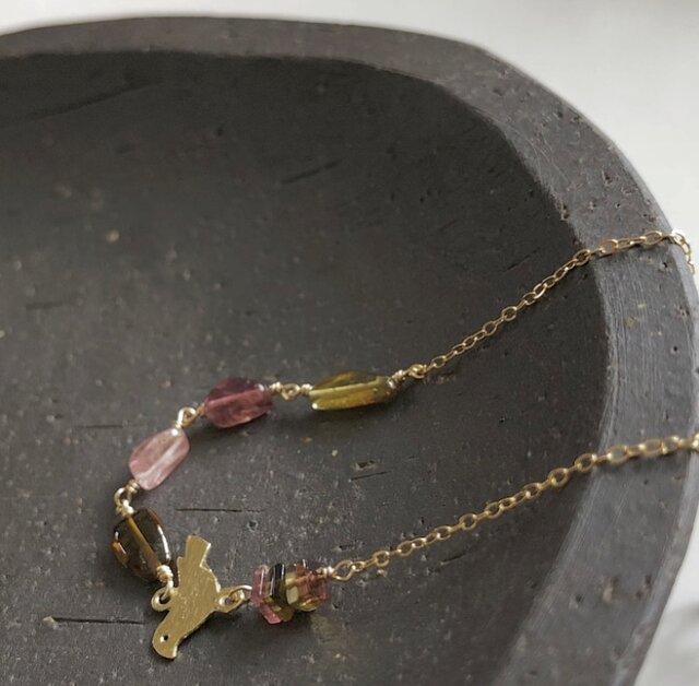 tourmaline*braceletの画像1枚目